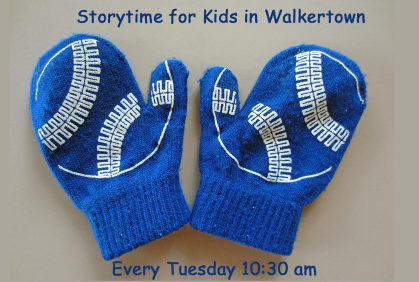 Sparkling Winter Storytimes at Walkertown