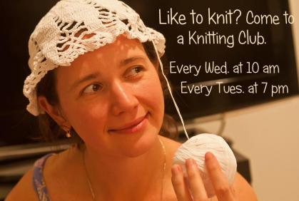 Quilting, Crocheting, and Knitting at Walkertown Library