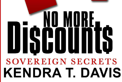 "Kendra Davis To Discuss Her New Book ""No More Discounts"""
