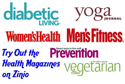 Try Out the Health Magazines on Zinio