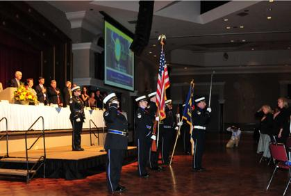 Forsyth County Honor Guard to present colors at state conference