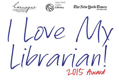 I LOVE MY LIBRARIAN AWARD!