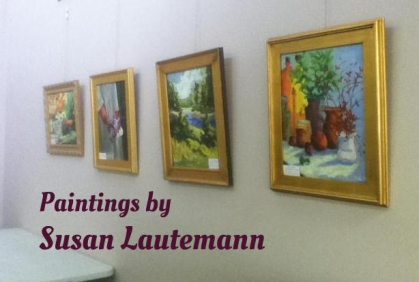 Art Exhibit at Reynolda Manor Library