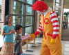 Have Fun with Ronald McDonald Tuesday, July 1