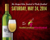 The 14th Annual North Carolina Wine Festival will be held at Tanglewood Park on May 24th!