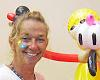 Balloon Lady to pop in at Walkertown Branch