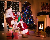 Visit Santa and Mrs. Claus at Festival of Lights!