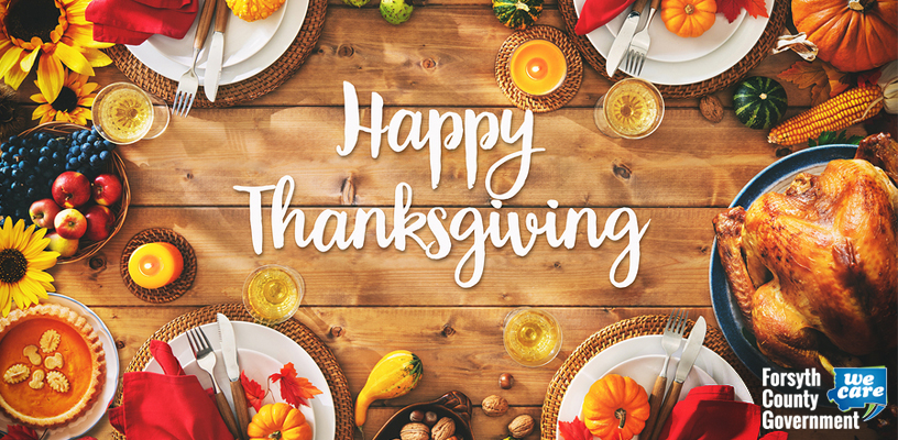 County offices closed for Thanksgiving