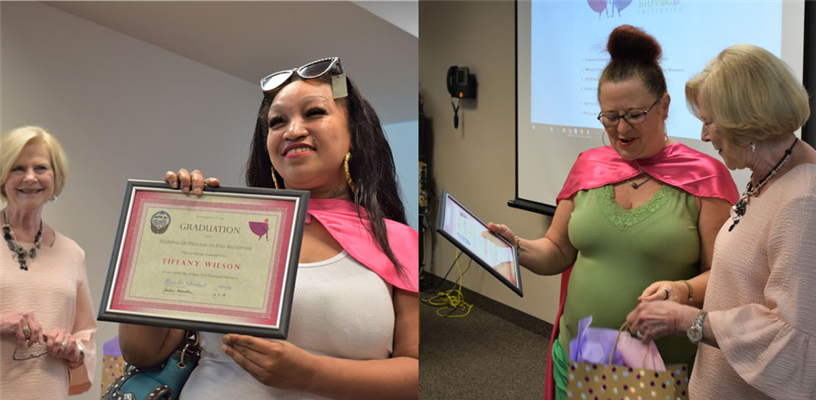 Stepping Up Graduation Celebrates SUPER Women