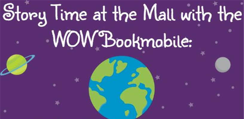 The Bookmobile and Storytime at Hanes Mall