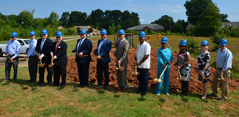 Forsyth County breaks ground for new Clemmons Branch Library