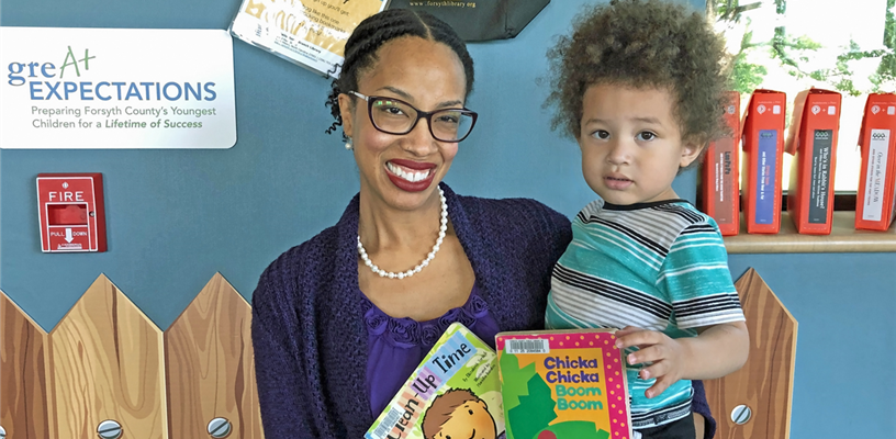 Encourage Literacy in your Pre-K Child at Walkertown Branch Library