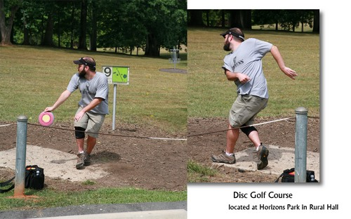 Disc Golf Course - Horizons Park in Rural Hall