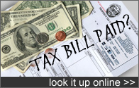 Tax bill paid?  Look it up online.