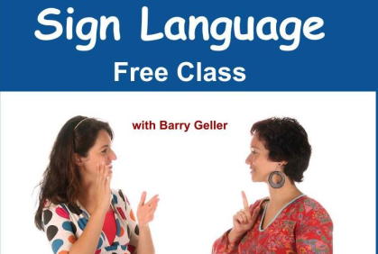 Free sign language workshop
