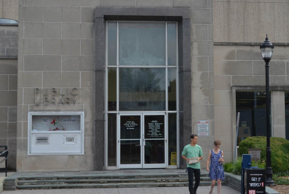 Commissioners Approve Contract Bid to Demolish Central Library