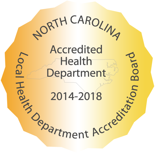 Accredited Health Department 2009-2013